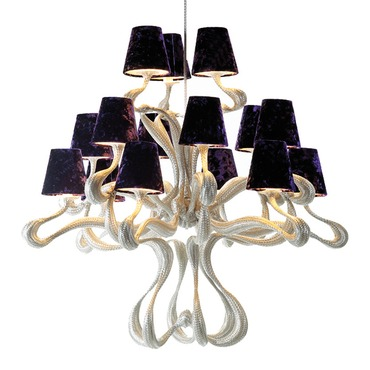 ODE 15 Light Chandelier by Jacco Maris | OD15CH.S-JM0112