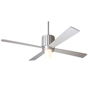 Flute Fan with Light by Modern Fan Co. | FLU-TN-52-NK-750-NC