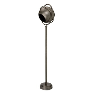 Steam Punk Spotlight Floor Lamp
