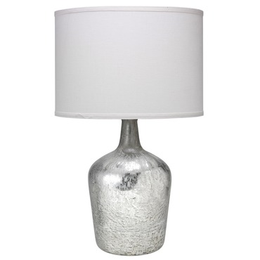 Plum Jar Table Lamp Grey Glass By Jamie Young Company 1plum Xlgr
