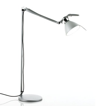 Fortebraccio Floor Lamp by Luceplan USA | 1D33NTGI05AA+BASE-METAL