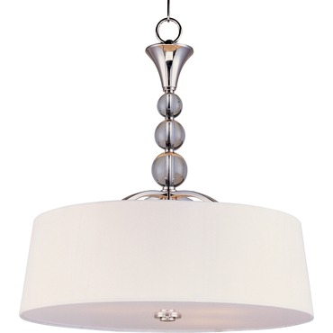 Rondo Entry Foyer Pendant by Maxim Lighting | 12753WTPN