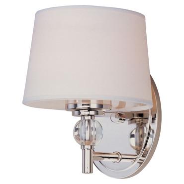 Rondo Wall Light by Maxim Lighting   12761WTPN
