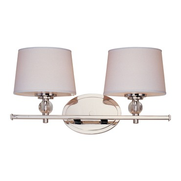 Rondo Bathroom Vanity Light by Maxim Lighting | 12762WTPN
