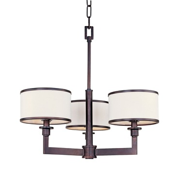 Nexus Single Tier Chandelier by Maxim Lighting | 12054WTOI