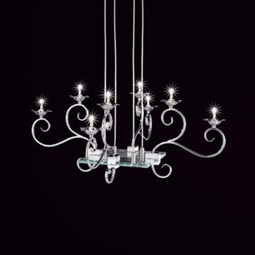 Ricciolo Suspension by Lightology Collection | RICCIOLO-8-S