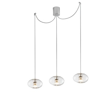Fairy LED Geoid Multi Light Decentralized Pendant