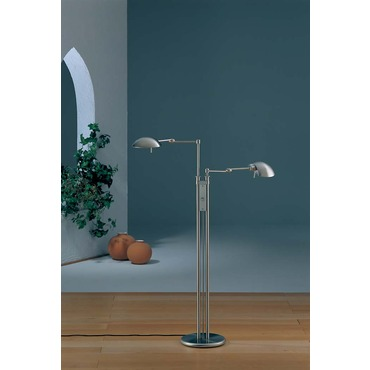 2505 Twin Light Floor Lamp by Holtkoetter | 2505-SN