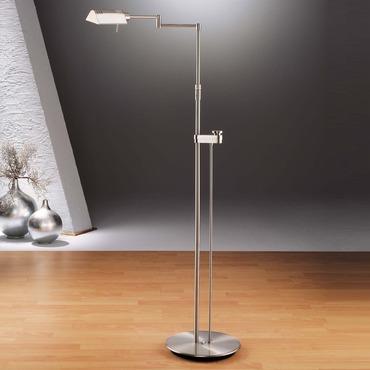6317 Side Line Dimmer Reading Floor Lamp by Holtkoetter | 6317SLD-SN