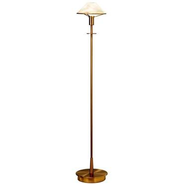 Aging eye metal shade swing arm floor lamp by holtkoetter 9424 ab aging eye glass shade floor lamp mozeypictures Images