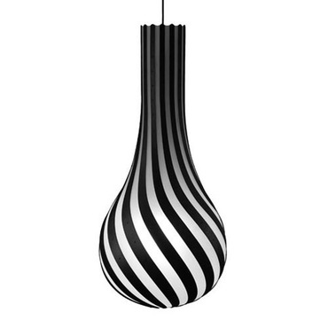 Rise Pendant Light by David Trubridge | DTL045-STAIN-BLACK-2S