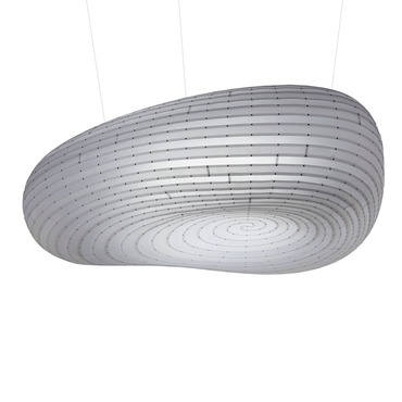 Cloud Suspension Lamp by David Trubridge | CLO-SMAL-POL-POL