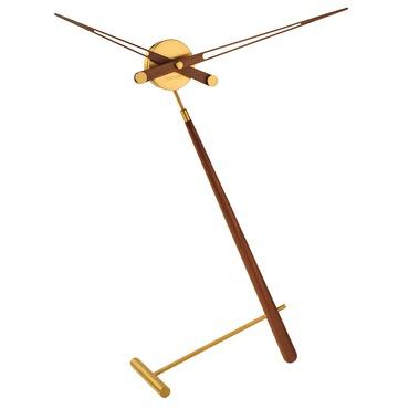 Puntero Walnut Table Clock