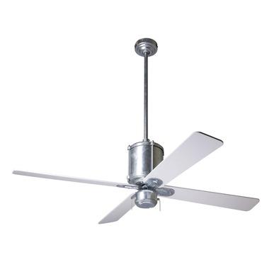 Industry Ceiling Fan no Light by Modern Fan Co. | IND-GV-50-WH-NL-003