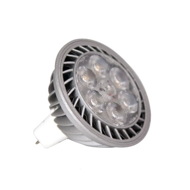 High Output LED MR16 GU5.3 8W 12VDC 25 deg 2700K