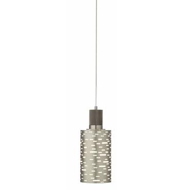LED Perforated Steel Pendant by Hart Lighting | FM-HL-1025SNELV1192SN
