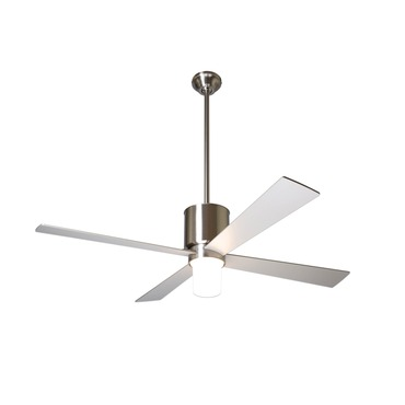 Lapa Fan with Light by Modern Fan Co. | LAP-BN-42-NK-550-NC