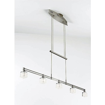 5515 Linear Adjustable Pendant by Holtkoetter | 5515-SN-G5012