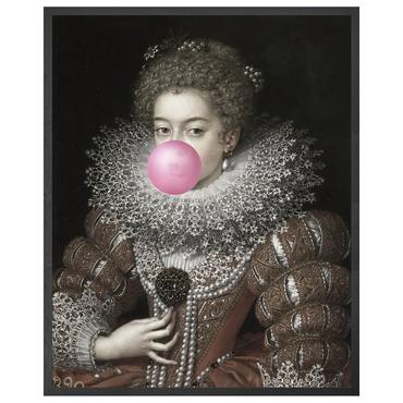 Bubblegum 3 Canvas