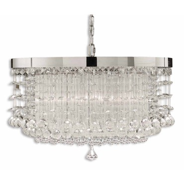 Fascination 3 Light Chandelier by Uttermost | 21138