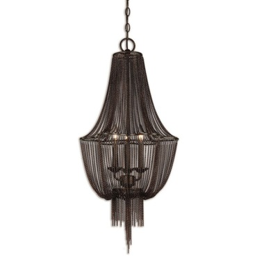 Lezzeno 3 Light Chandelier by Uttermost | 21998
