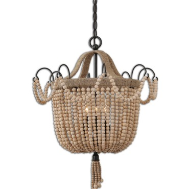 Civenna 3 Light Pendant by Uttermost | 21992
