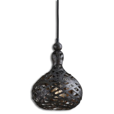 Alita Industrial Mini Pendant by Uttermost | 21975