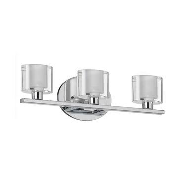 809 Bath Bar by Dainolite | 809-3W-PC