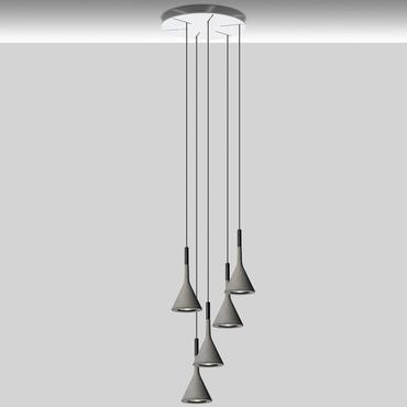 Aplomb Round Multi Light Pendant