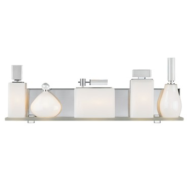 Lola Bath Light  by LBL Lighting | BA7445OPPC2G