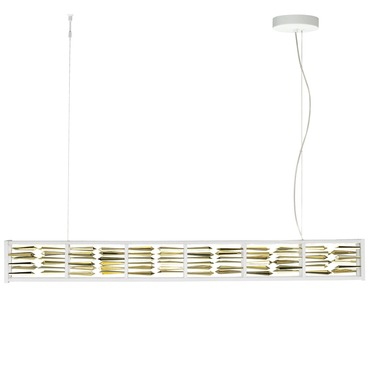 Scarlett Suspension by LBL Lighting | SU755GDGMLED