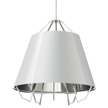 Kable Lite LED Artic Pendant by Tech Lighting | 700KLMATCWSSS-LED930