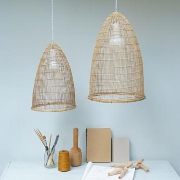 Bamboo Cone Pendant