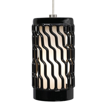 T-Trak 1-Circuit Liza Grande Pendant by Tech Lighting | 700TTLIZGPBS