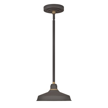 Foundry Outdoor Industrial Shade Pendant