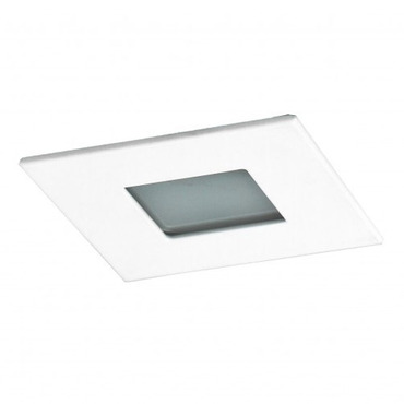 R3-599 3 Inch Square Lensed Shower Trim by Beach Lighting | R3-559MW