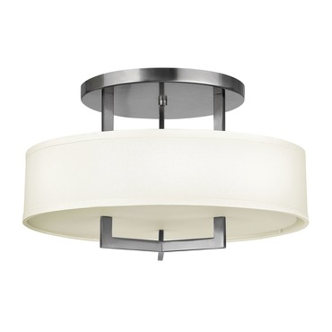Hampton 3201 Semi Flush Ceiling