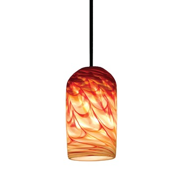 Rose Cylinder Pendant by WPT Design | ROSE-CYL-RH-BZ-17