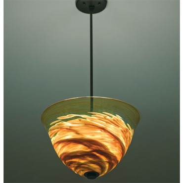 Rose Agua Viva Pendant by WPT Design | ROSE-AGUA-AM-BZ-41