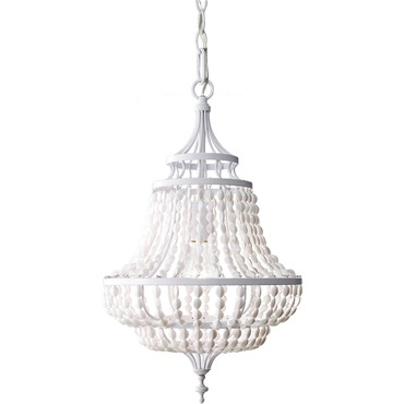 Maarid Chandelier by Feiss | F2799/1WSG