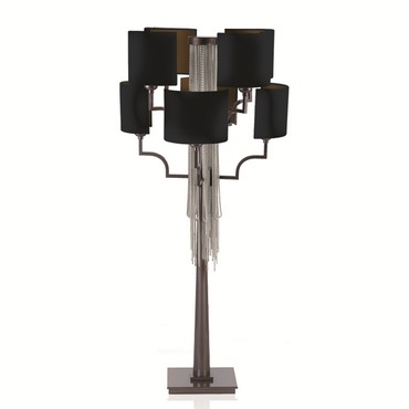 8 Light Table Lamp by Lightology Collection | LC-EC11-M14-T16-WN