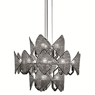 20 Light Suspension by Lightology Collection | LC-H04C3