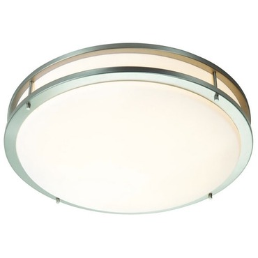 Saloris Acrylic Flush Mount Ceiling  by Access | 20740-BS/ACR
