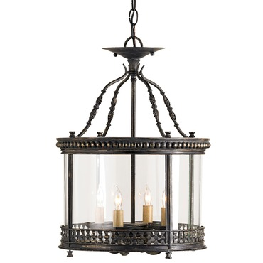 Grayson Lantern/Semi Flush by Currey and Company | 9045-CC