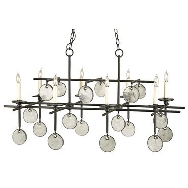 Sethos Rectangular Chandelier by Currey and Company | 9124-CC