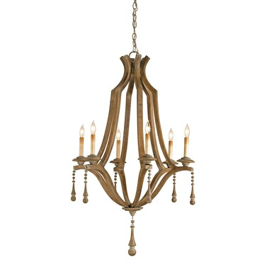 Simplicity Chandelier by Currey and Company | 9256-CC