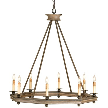 Bonfire Chandelier by Currey and Company | 9799-CC