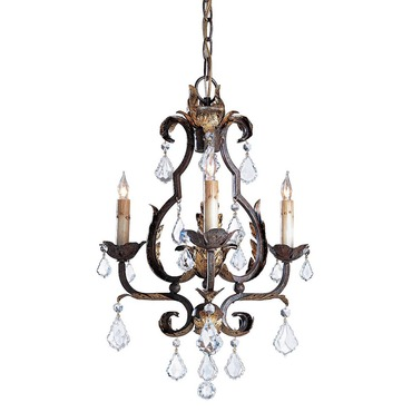 Tuscan Small Chandelier by Currey and Company | 9829-CC