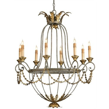 Elegance Chandelier by Currey and Company | 9948-CC