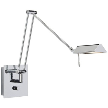 Bernie Swing Arm Wall Light by Holtkoetter | 8191-CH